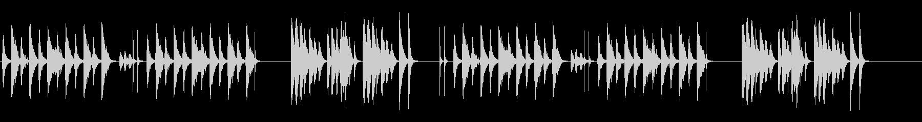 劇伴 シンプル 日常 間抜けの未再生の波形