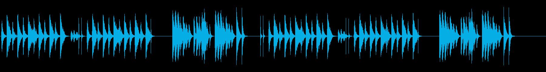 劇伴 シンプル 日常 間抜けの再生済みの波形