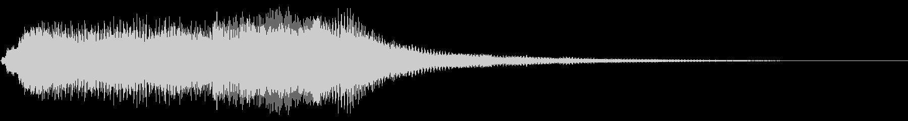 パイプオルガン チェレスタ 明るい の未再生の波形