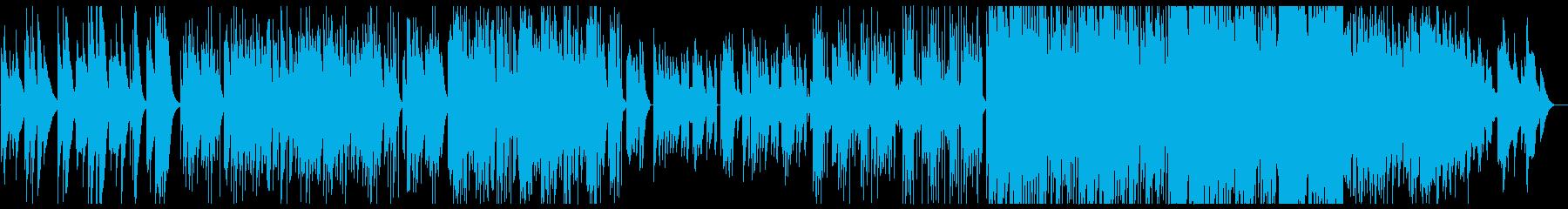 和風音階 雪 オルゴール エレクトロニカの再生済みの波形