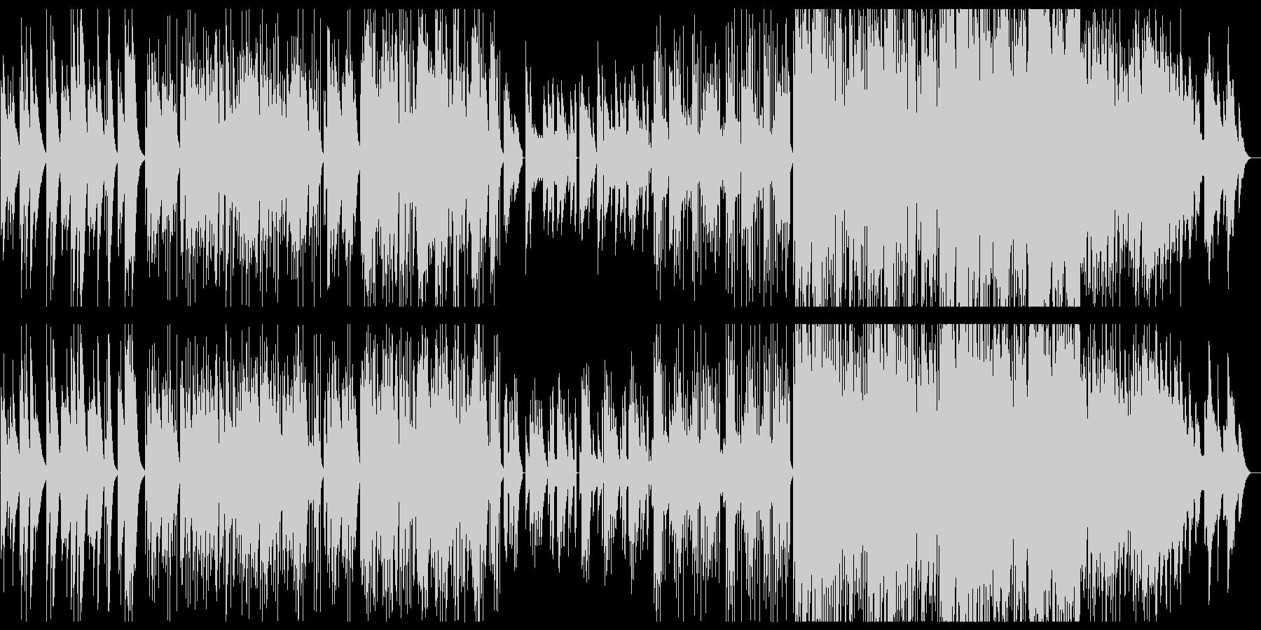 和風音階 雪 オルゴール エレクトロニカの未再生の波形