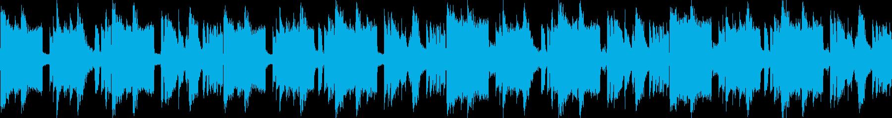 静かな夜に合う落ち着いたR&Bループbの再生済みの波形