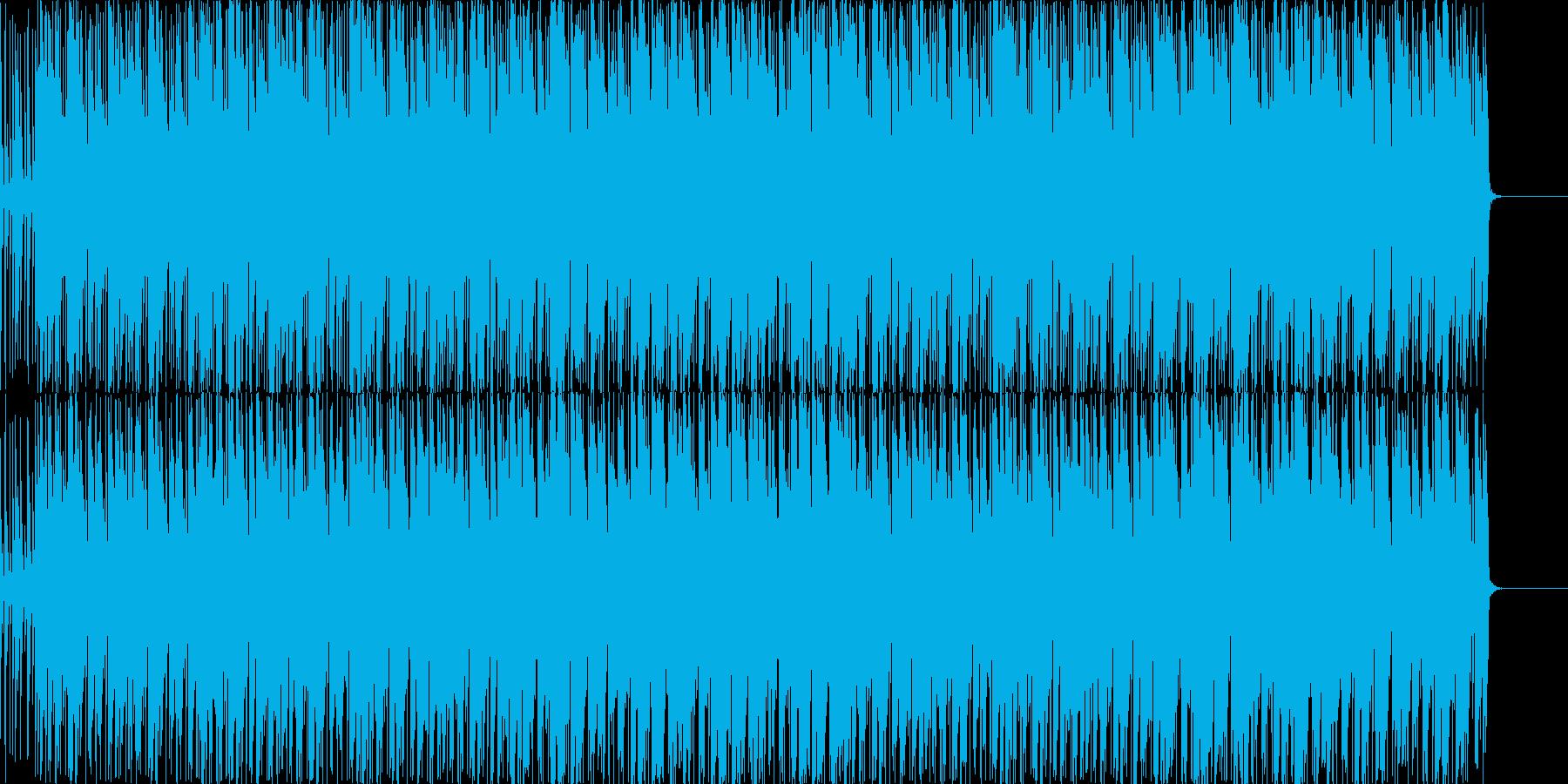 リズミカルなラテン系ポップストランペットの再生済みの波形