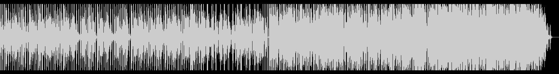 【短いVer1】70年代ファンクロック風の未再生の波形