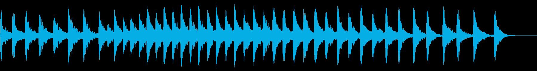 レプトンチャーチBベル:スロートゥ...の再生済みの波形