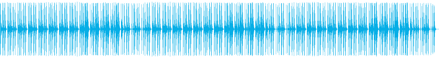 YouTube ピチカート・木琴・日常の再生済みの波形