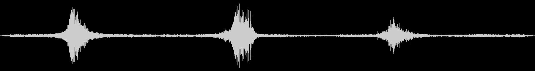 1985シェビーカマロ:高速3回ド...の未再生の波形