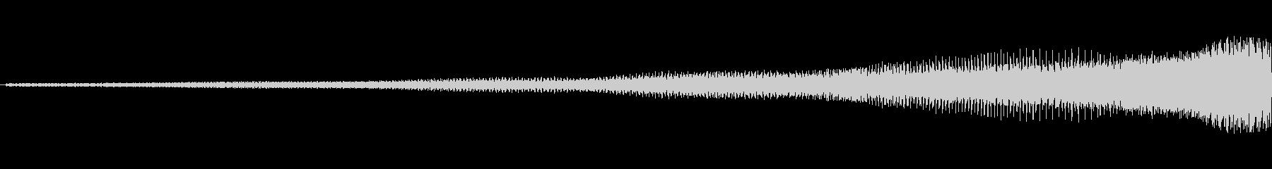 【映像転換/アイキャッチ/オープニング】の未再生の波形