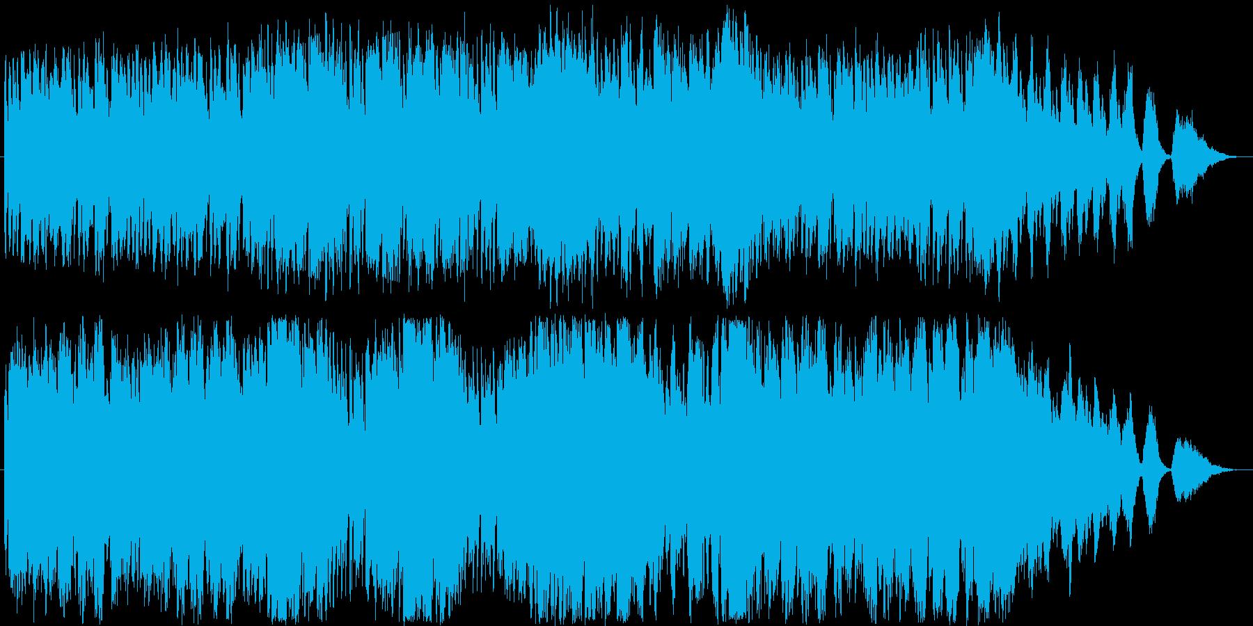 メルヘンな雰囲気のイージーリスニングの再生済みの波形