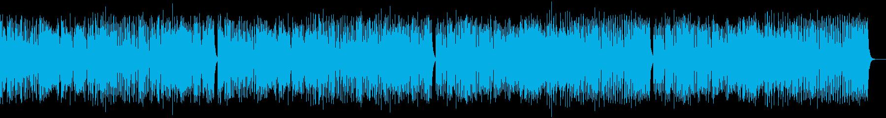 ゴルトベルク変奏曲variation1の再生済みの波形