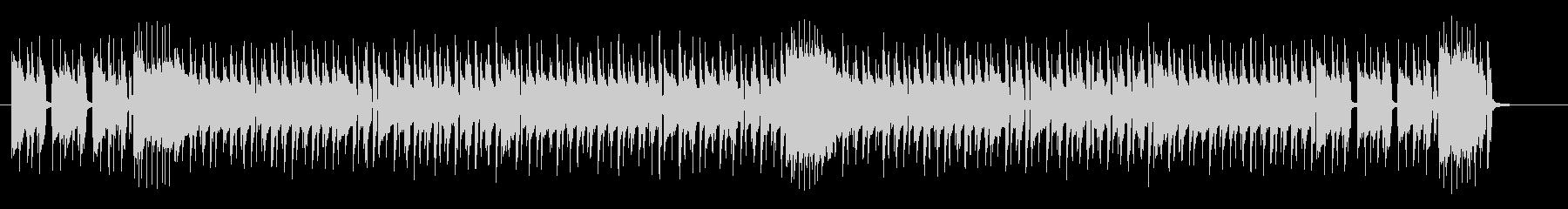 ノリの良いドラムポップスの未再生の波形