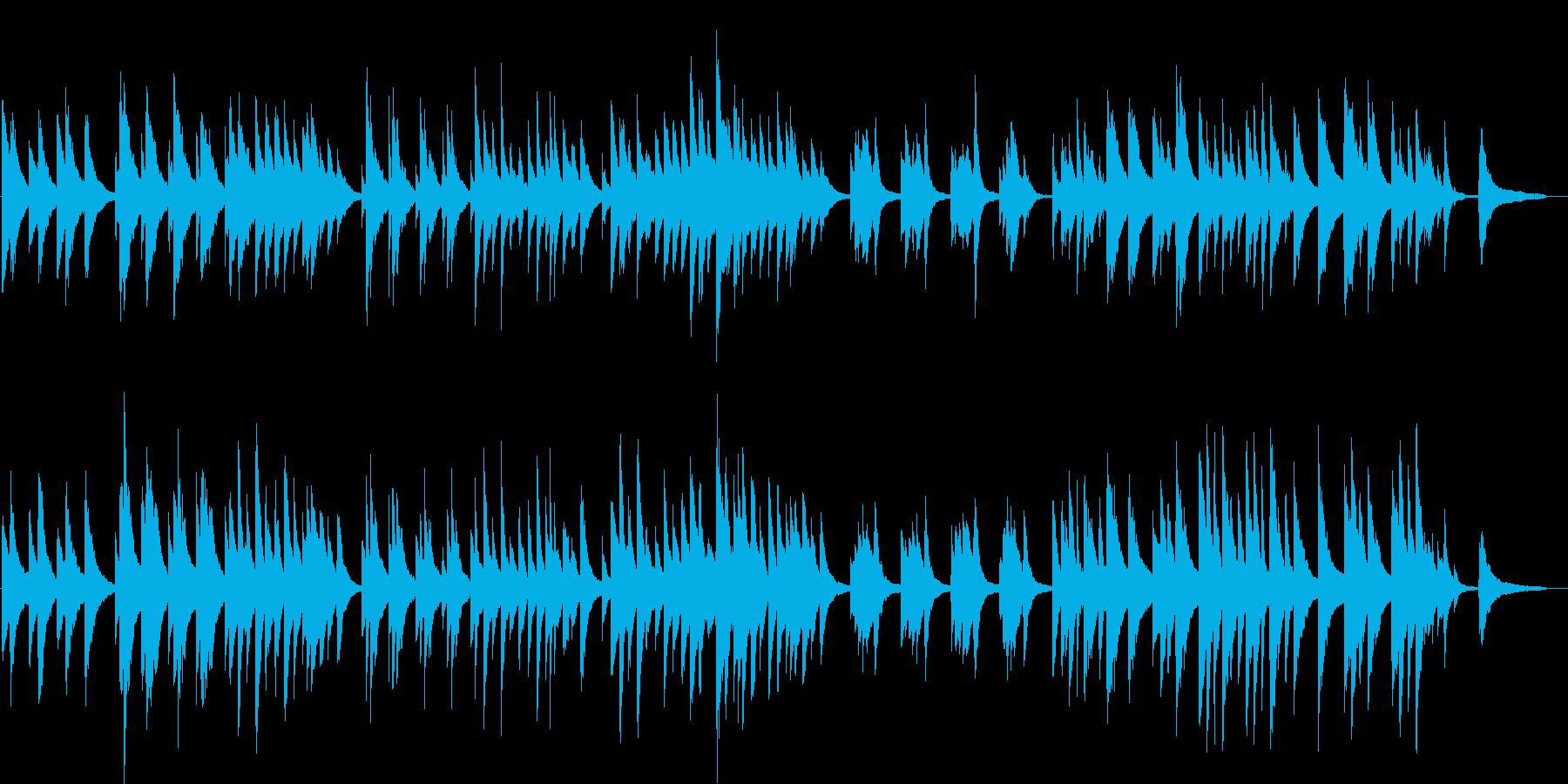 ピアノ生演奏/告白・恋・ヨガ・眠り・瞑想の再生済みの波形