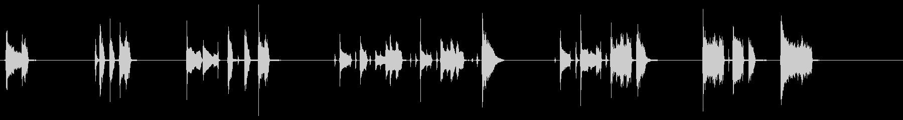 ファンキーギターいろいろジングル効果音 の未再生の波形