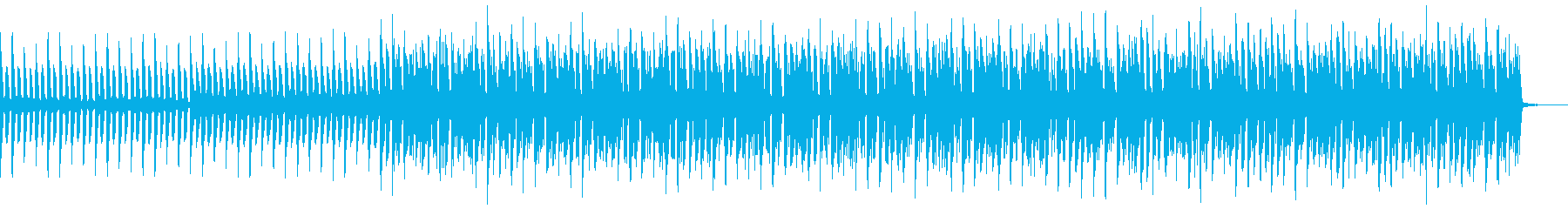 琴 切ない 和風4つ打ちBGMの再生済みの波形