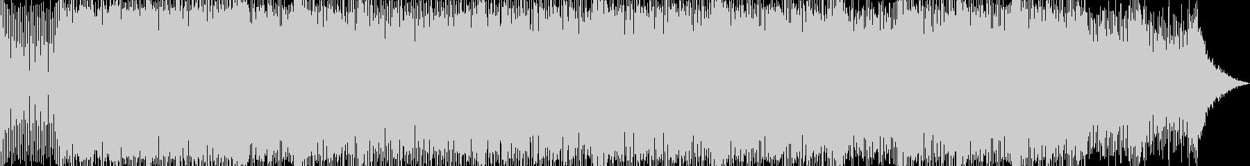 シューティング、疾走感あるエレクトロトラの未再生の波形
