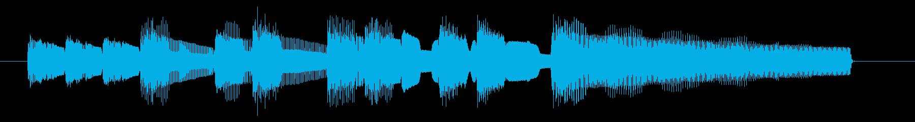 NES アクションD09-2(クリア2)の再生済みの波形