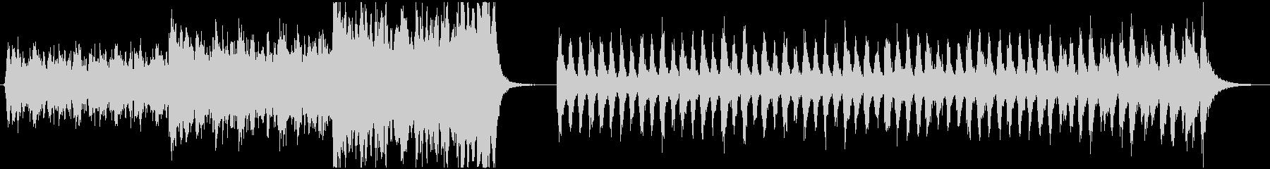 2つの緊張感・エピックオーケストラの未再生の波形