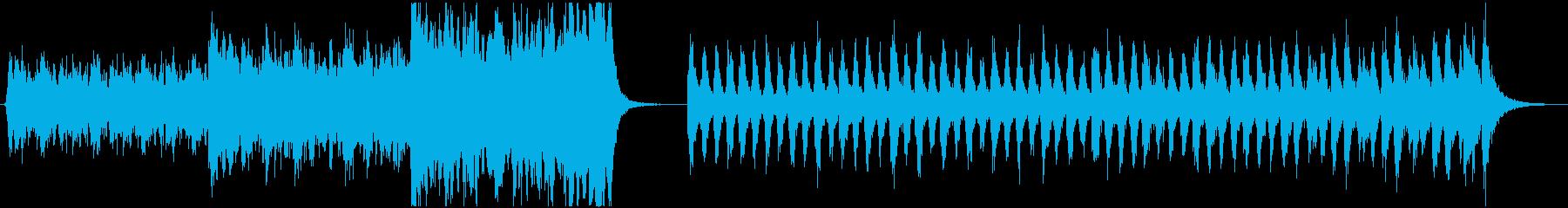 2つの緊張感・エピックオーケストラの再生済みの波形
