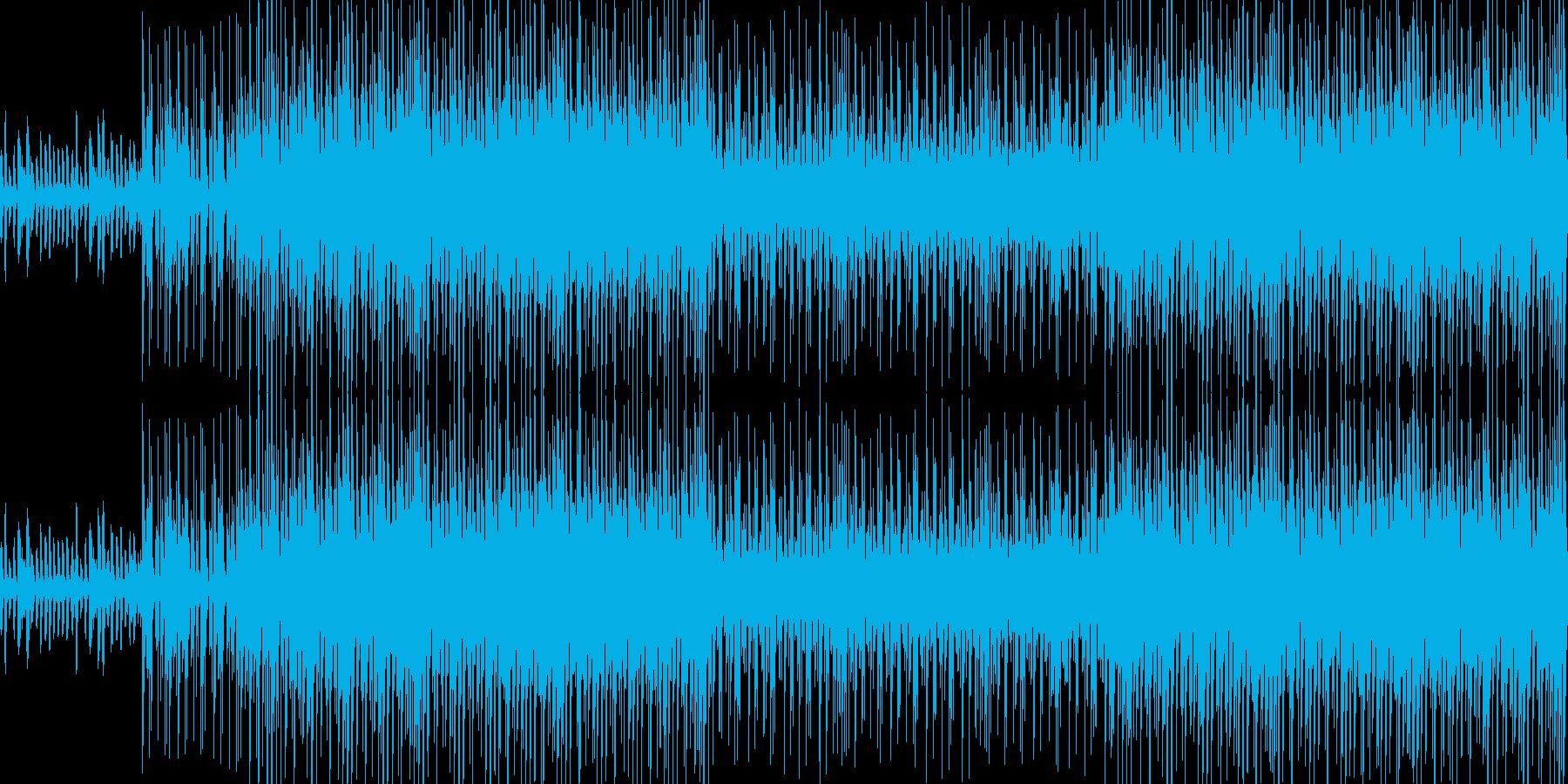 かわいくて元気でテンポ良がい曲;ループの再生済みの波形