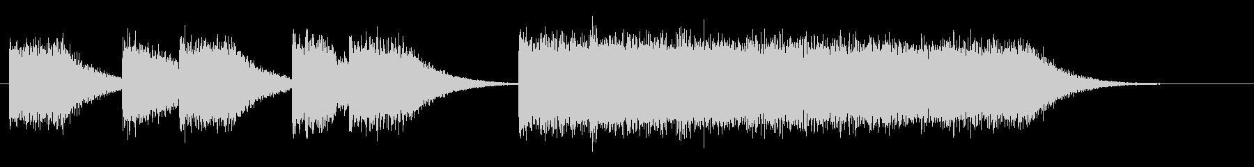 レトロゲームファンファーレ/短い軽い12の未再生の波形