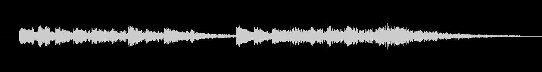 爽やかなオープンベル音 strings…の未再生の波形