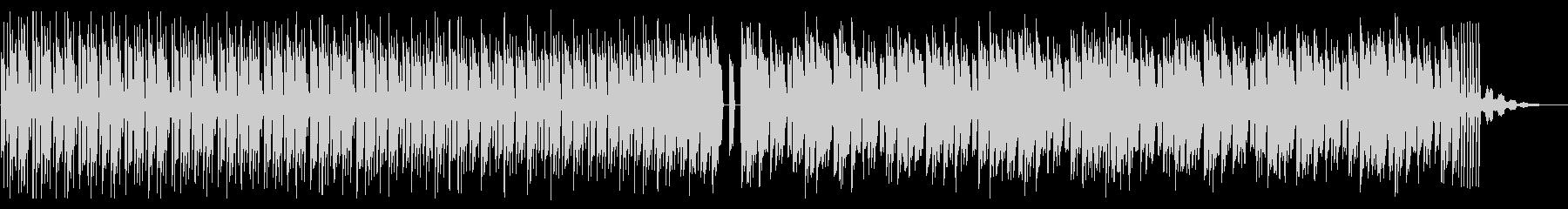シンプルでビートの強いテクノ_2の未再生の波形