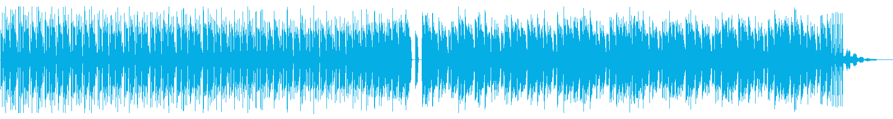 シンプルでビートの強いテクノ_2の再生済みの波形