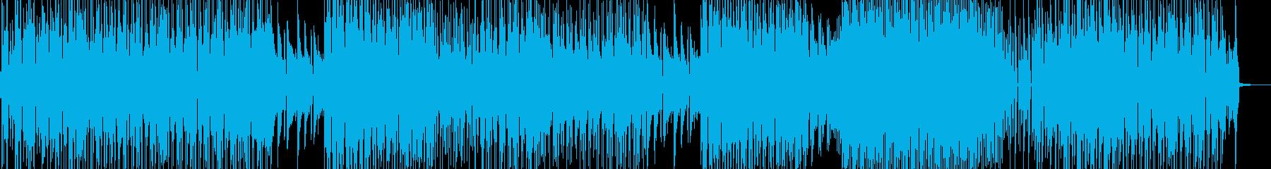 お笑い冒険活劇・打楽器の三味線ファンクの再生済みの波形