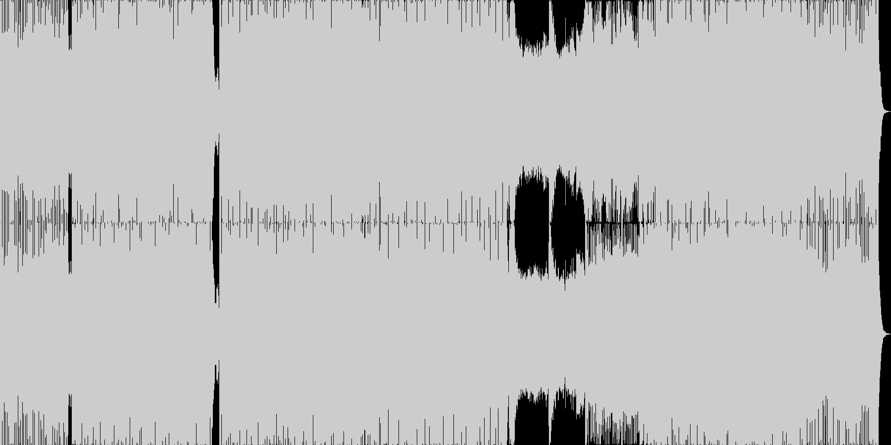 勢いと透明感のあるドラムンベース。の未再生の波形