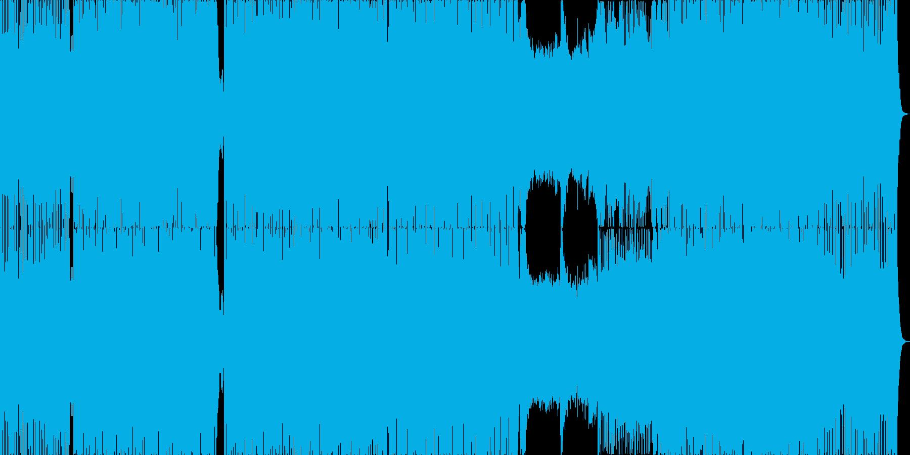 勢いと透明感のあるドラムンベース。の再生済みの波形