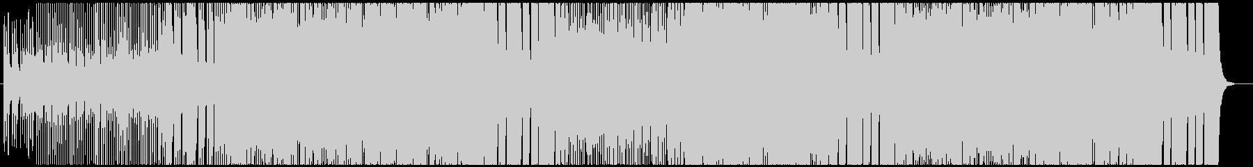 戦国バトル系 和風ハードロックの未再生の波形