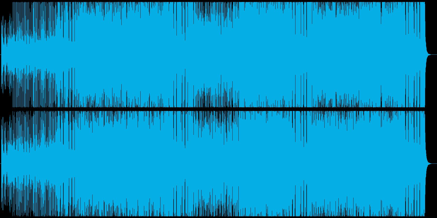 戦国バトル系 和風ハードロックの再生済みの波形