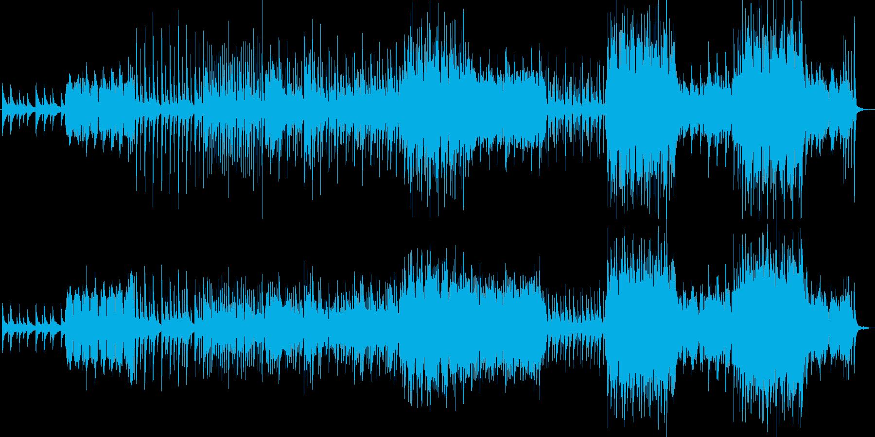 森っぽいの再生済みの波形