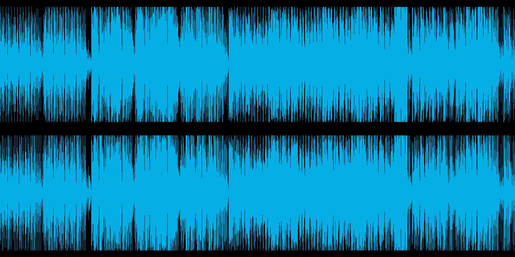 ビーチや夏バカンスに合う曲(リメイク版)の再生済みの波形