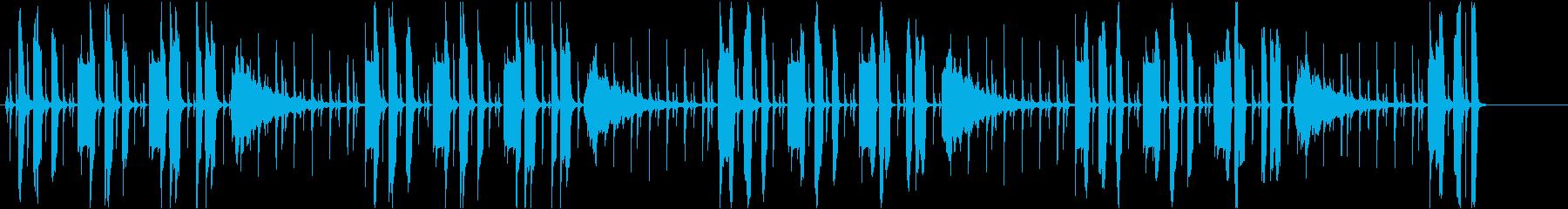 ほのぼの ペット 赤ちゃんの再生済みの波形