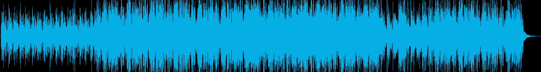 美しいラウンジミュージックの再生済みの波形