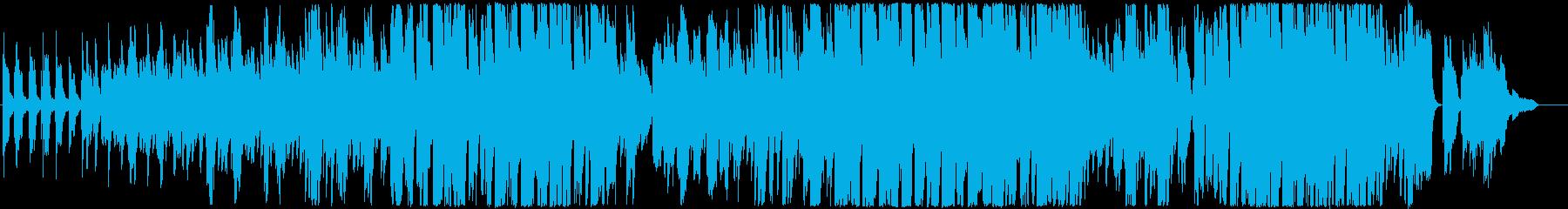 大切な人に捧げた切ないピアノバラードの再生済みの波形
