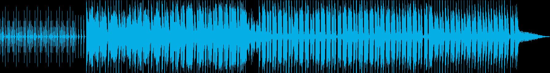 まるで行進しているようなEDMの再生済みの波形