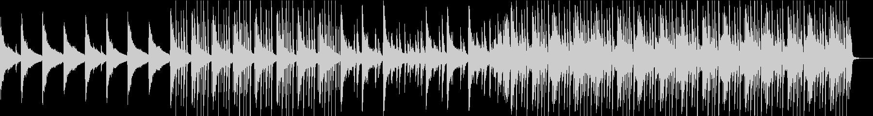 切なく懐かしいイメージのピアノインストの未再生の波形