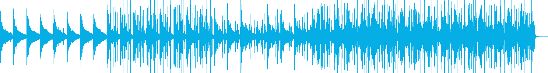 切なく懐かしいイメージのピアノインストの再生済みの波形