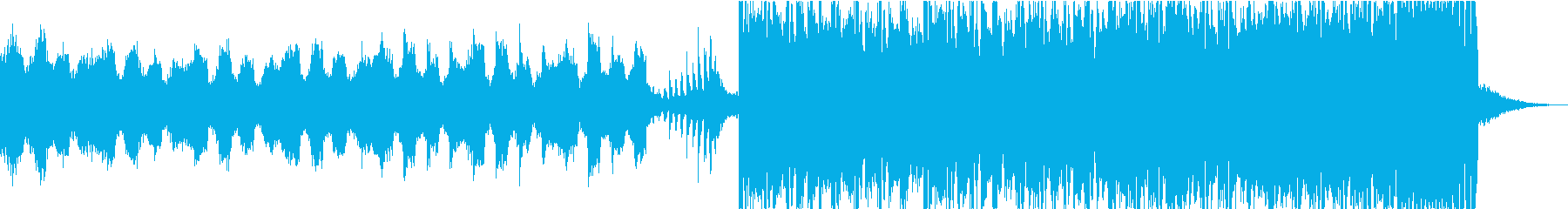 期待感の高まるライブ入場SEやCM30秒の再生済みの波形