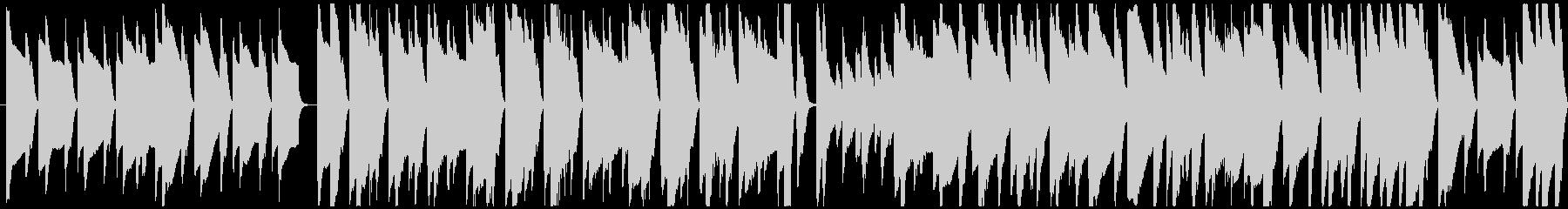 推理場面などをイメージしたピアノメイン曲の未再生の波形