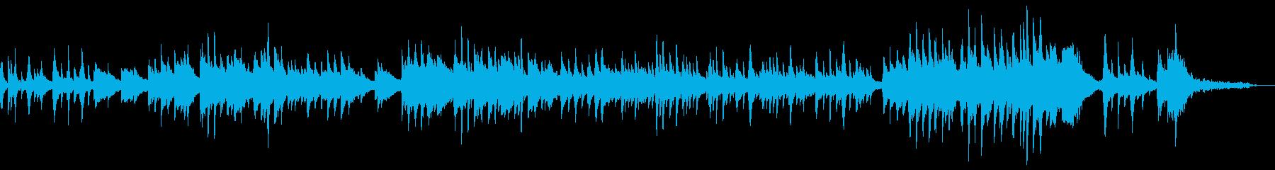 癒しのピアノ〜たなばたさま〜の再生済みの波形