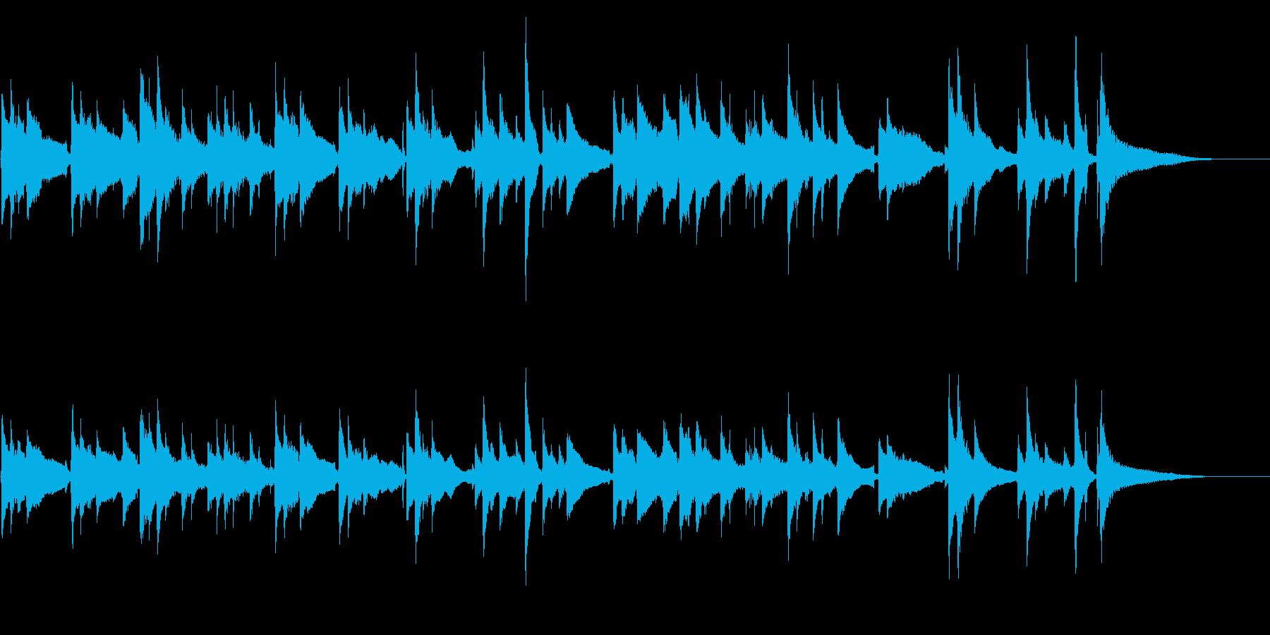 アコギ29/悲しい、宿命、/ソロ、生音の再生済みの波形