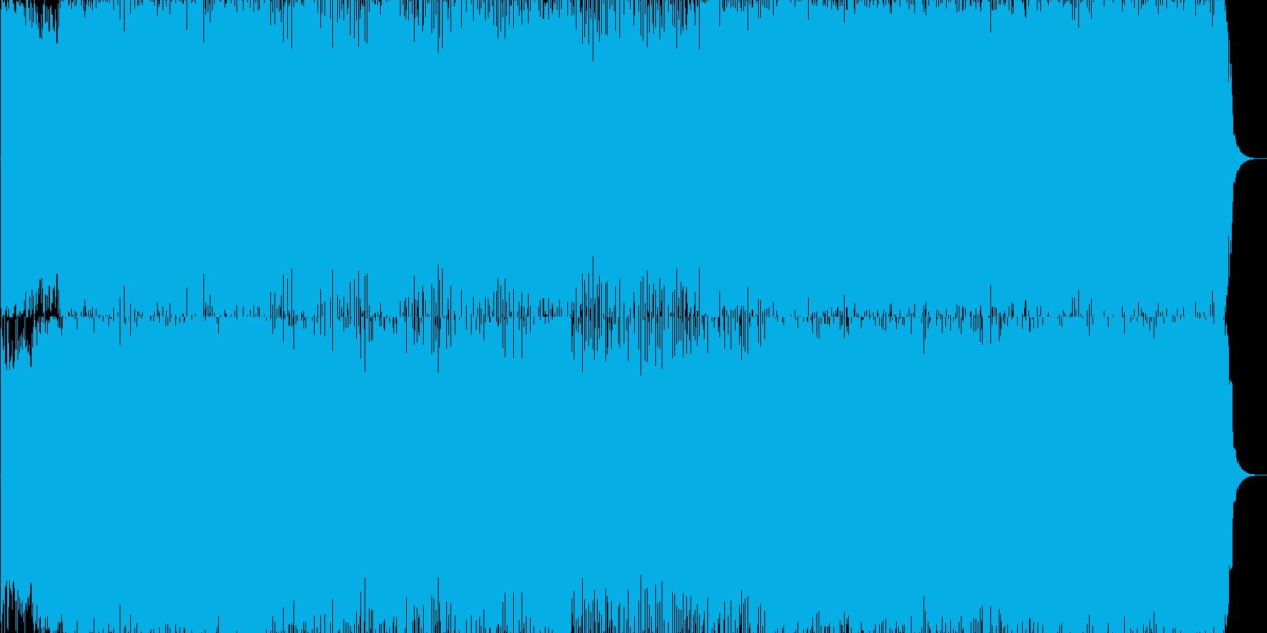 明るく元気なデジタルポップの再生済みの波形
