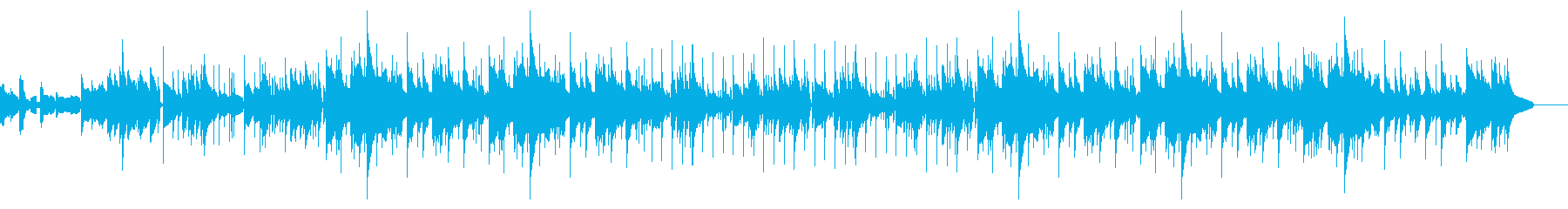 オルガンとギターのハートフル郷愁ソングの再生済みの波形