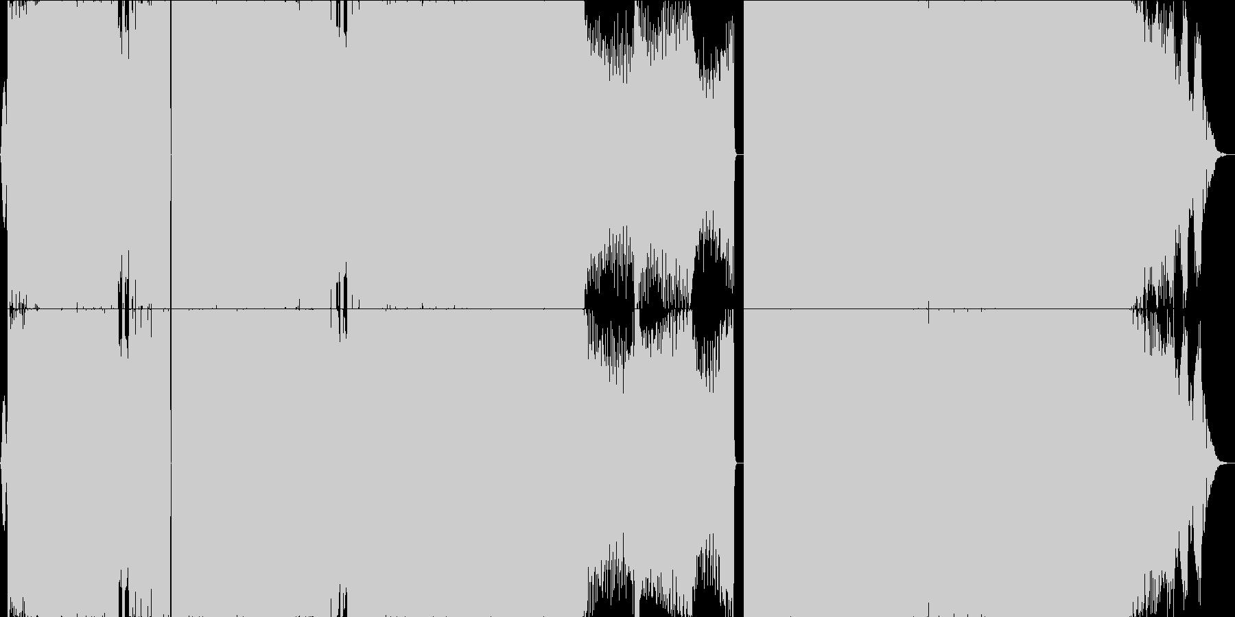 【EDMトランス】イベント・映像制作向けの未再生の波形
