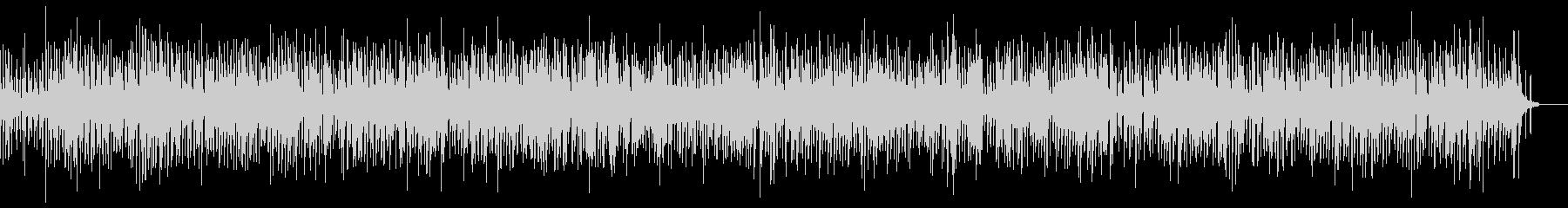 ピアノメロのスィングジャズの未再生の波形