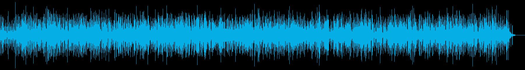 ピアノメロのスィングジャズの再生済みの波形
