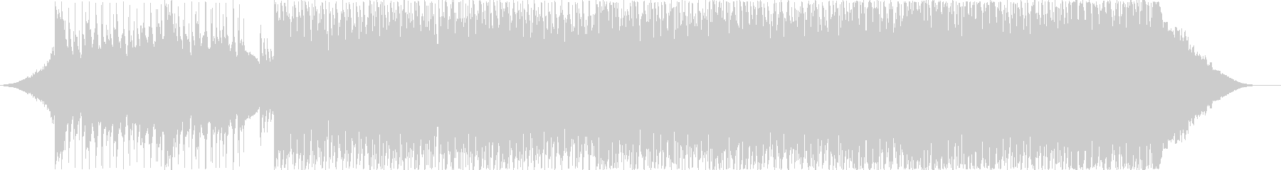 EDM with the image of a blue sky's unreproduced waveform